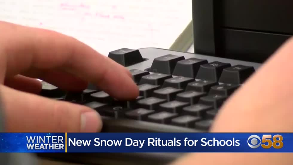 Learning on snow days? Schools shift to virtual instruction instead...
